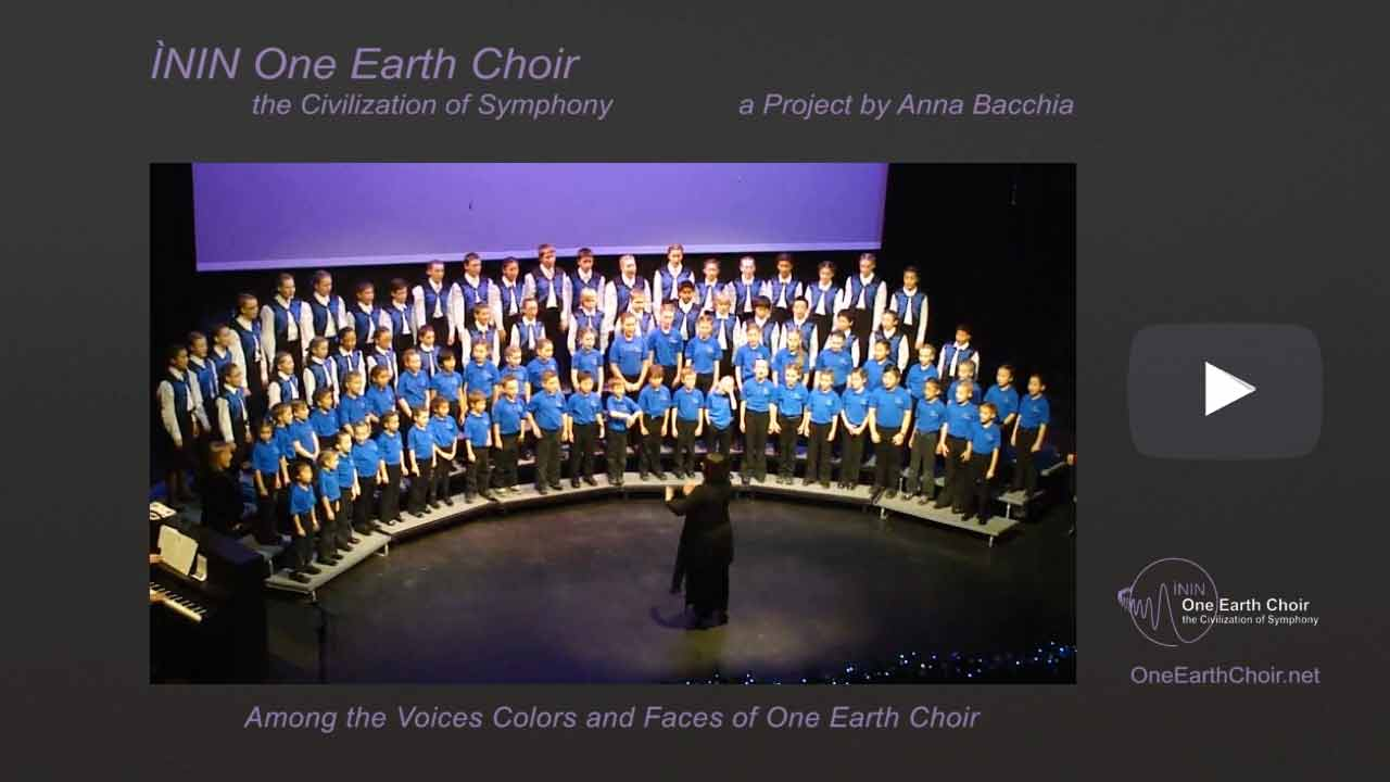 Video: among the Voices of One Earth Choir - 3